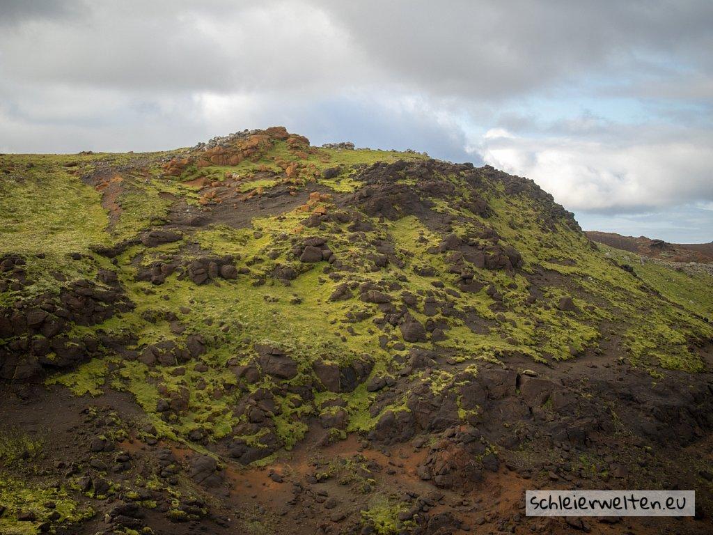 Hügel in Island